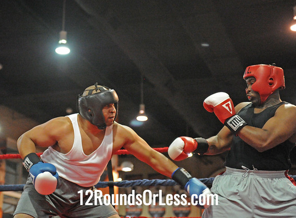 Robert Curry (Cleveland B.C.) vs Herbert Monford (Unattached)  201 (+)-Novice  Bout # 19