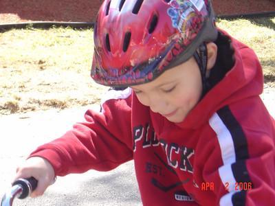New Bike Ride April 2006