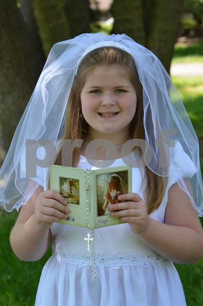 Aaliyah Communion Pics