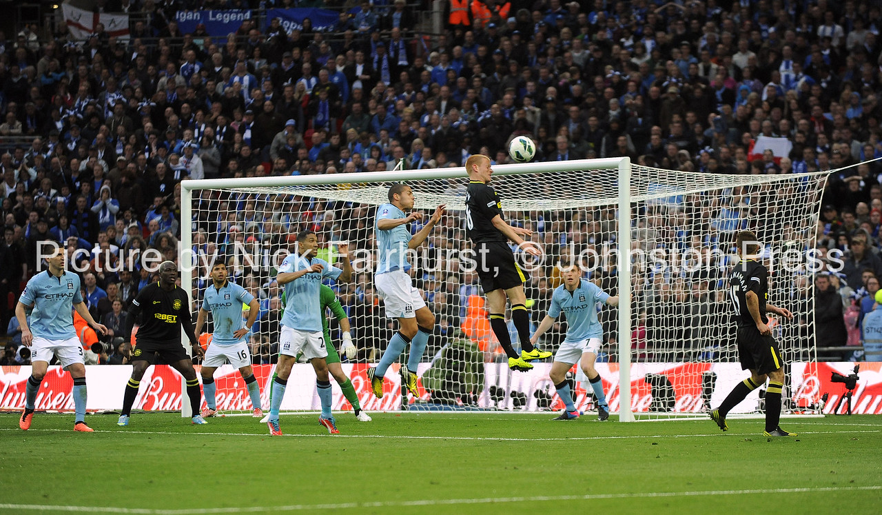 FA Cup Final, Manchester City v Wigan Athletic (0-1), Wembley Stadium, 11/05/2013