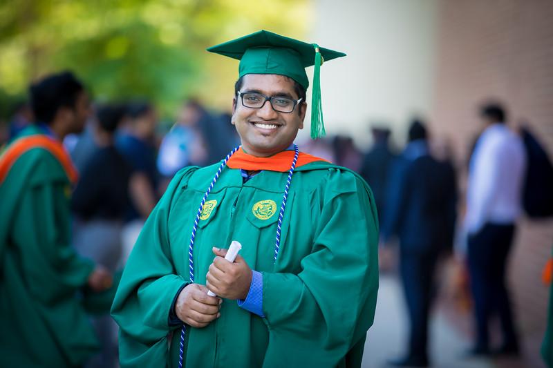 Rakesh Graduation Ceremony