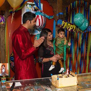 Aaryan's First Birthday September 2013