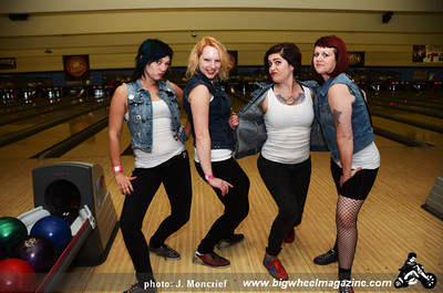 The Dagger Debs - Punk Rock Bowling 2012 Team Photo - Gold Coast - Las Vegas, NV - May 26, 2012
