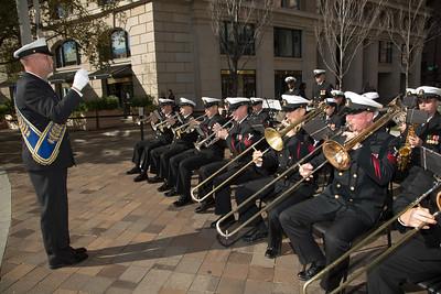 Navy Memorial - Veterans Day 2015
