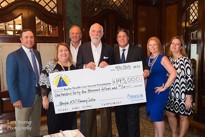 Check Presentation Luncheon