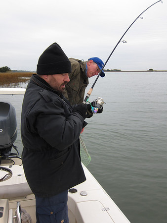 2011 Dec - Fishing in Bulls Bay