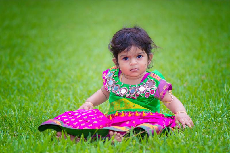 Amulya's 1st Birthday Highlights