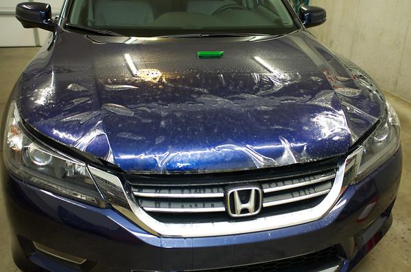 2013 Blue Honda Accord