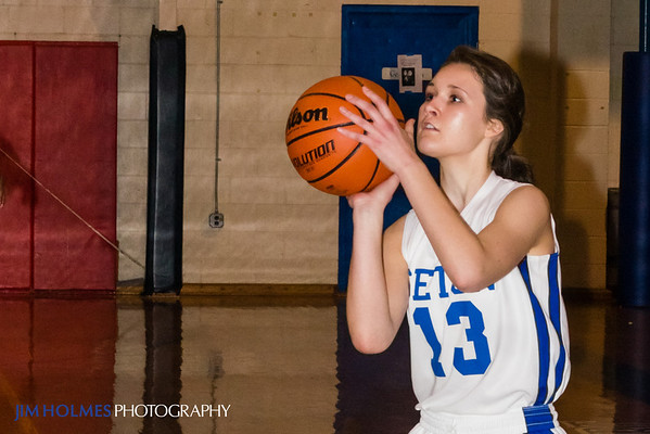 Seton Girls Basketball (Feb 2012)