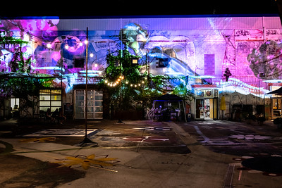 Jeff Dobrow's Projection Art
