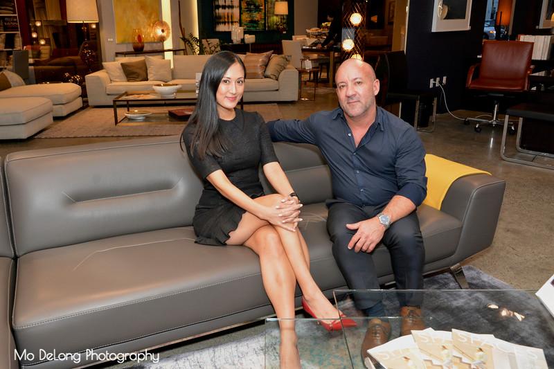 Hannah Kim and Joe Rivera