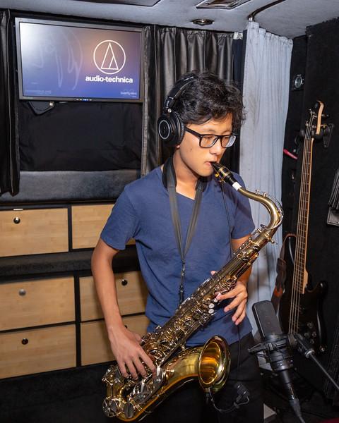 2019_09_20, Audio-Technica, Bus, Grover Cleveland High School, Interior, NY, Ridgewood
