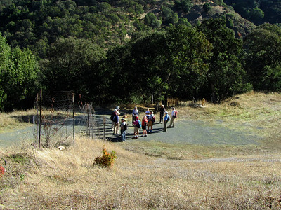 Highland Ridge-Tassajara Creek Hike 101211