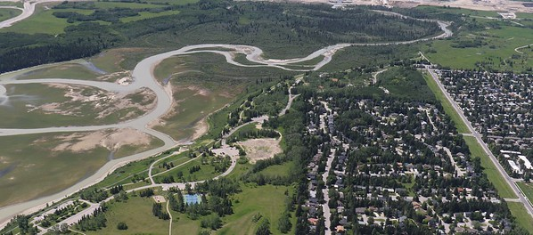North Glenmore park and engineered wetlands