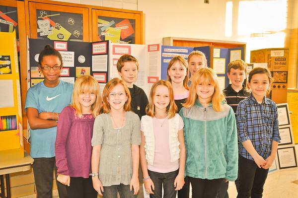 Science Fair Winners 2011-2012