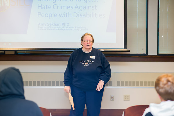 Disability Awareness Month- Disregarded Targets: Hate Crimes Against People with Disabilities