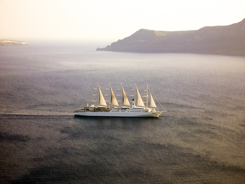 Club Med cuise ship.