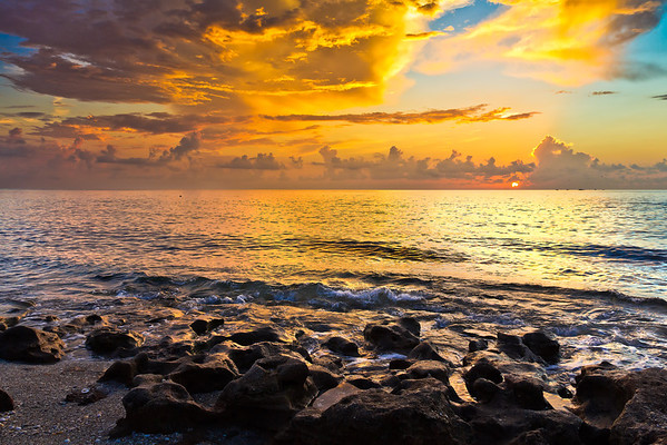 Sunrise @ Coral Cove - 8/13/11