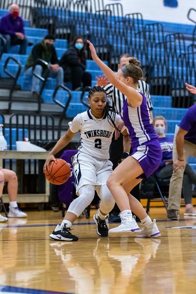2021-01-16 -- Twinsburg vs North Royalton High School Girls Varsity Basketball