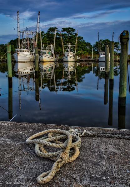 Shrimp Boats, Apalachicola, Fla.