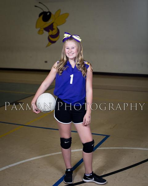 2017 7th Grade Volleyball