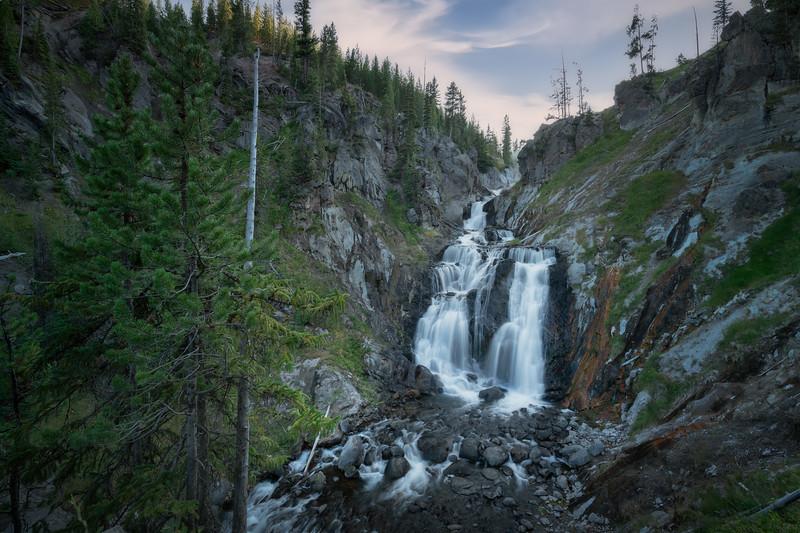 Rolling Falls || Yellowstone National Park