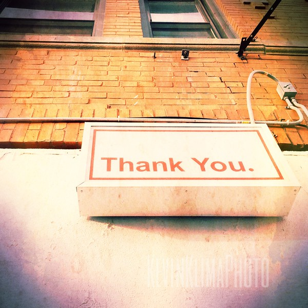 Thank You.  (closed)
