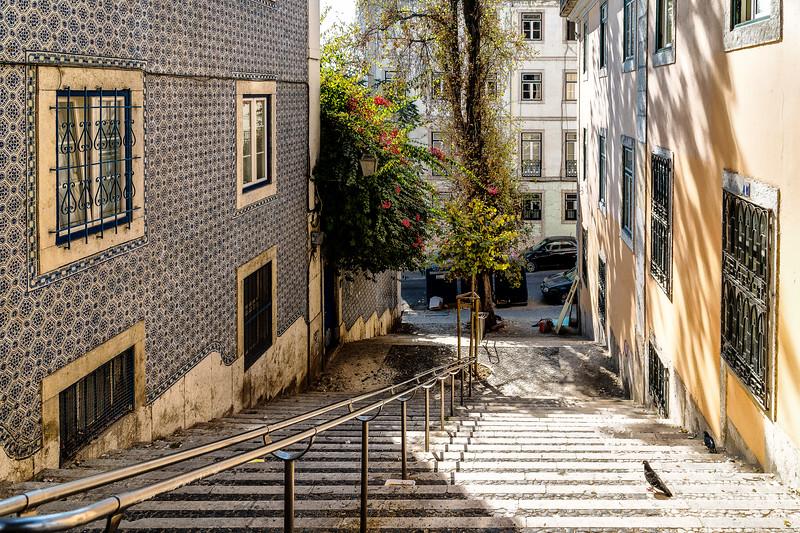 Colorida Calles de Lisboa