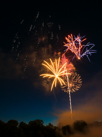 July 4th 2014 - Fairbanks Park Fireworks