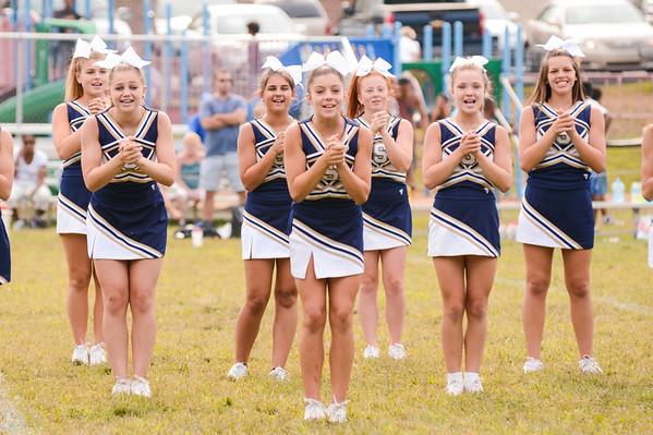 Senior Cheer Squad vs Media