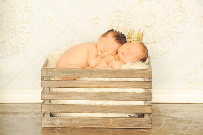 King and Queen Newborn Twins