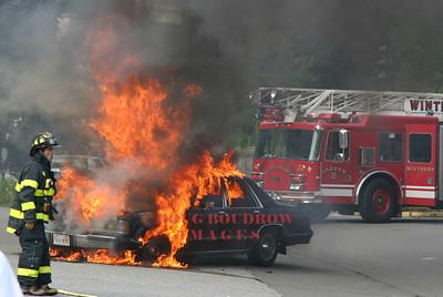 Winthrop, MA - Vehicle Fire, 230 Revere Street, 9-1-05