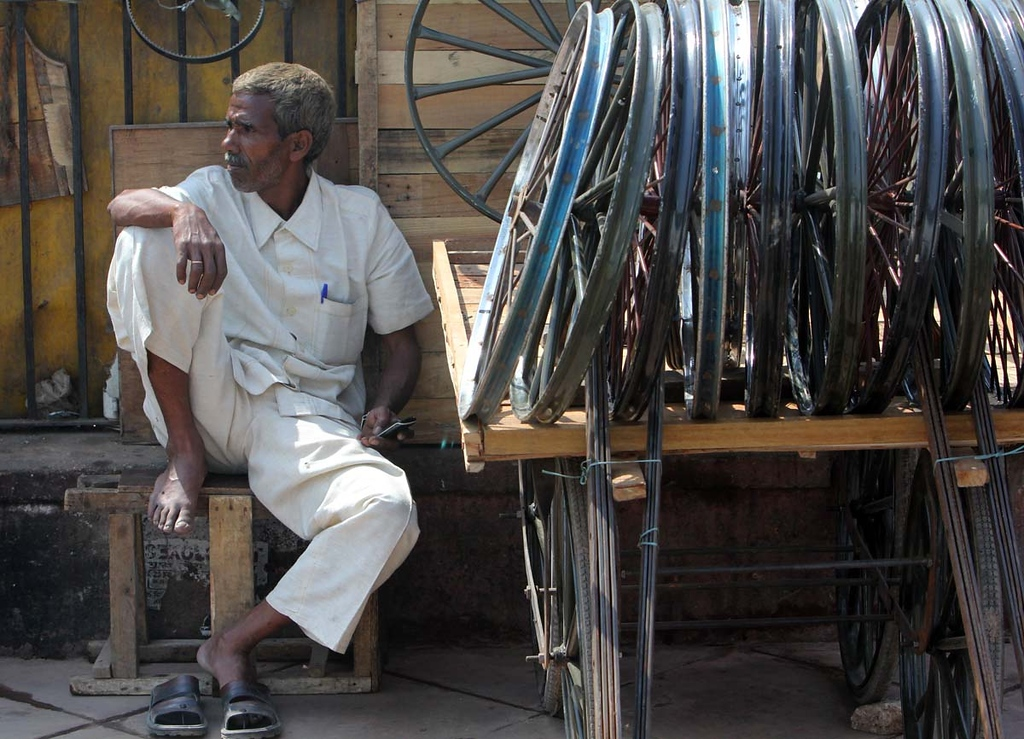 . Day No. 1 in Delhi. Shmuel Thaler/Sentinel