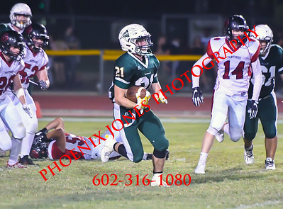 9-1-17 - Greenway vs Coconino - Football Game