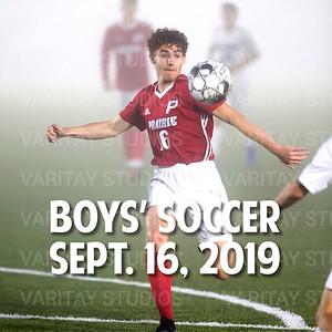 Prairie Boys Soccer, Sept. 16, 2019