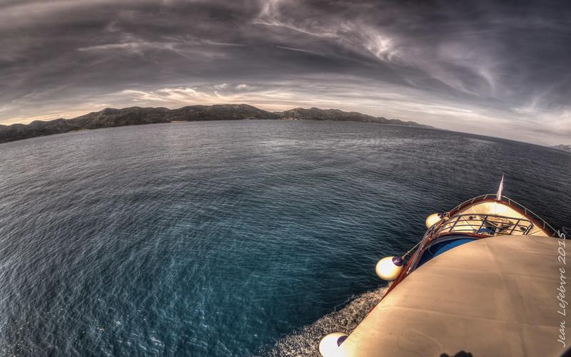 Cruising to Mljet, Adriatic Sea