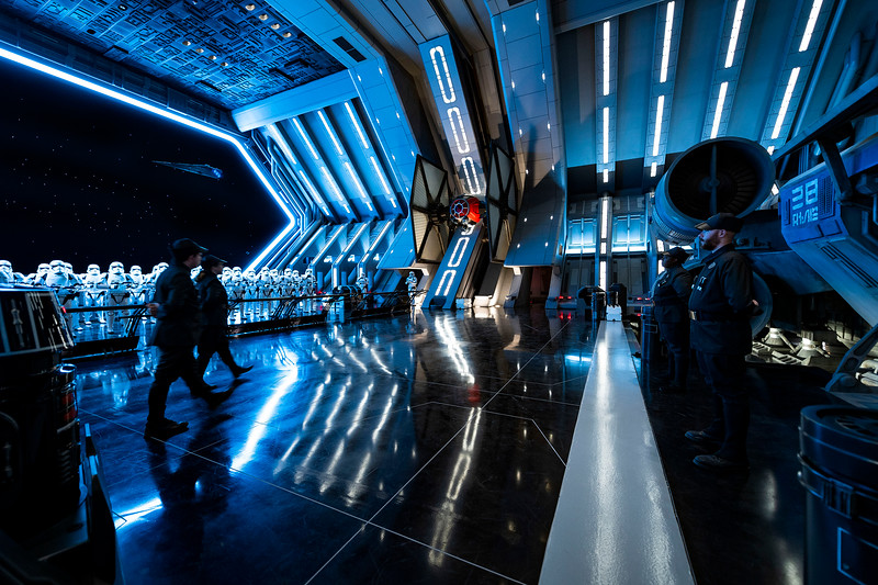 GALLERY: Inside and outside of new 'Rise of the Resistance' attraction at #StarWars #GalaxysEdge
