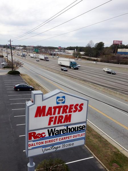 Rec Warehouse Pole Sign Photos 2-20-13