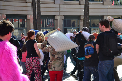 San Jose Pillow Fight 2013