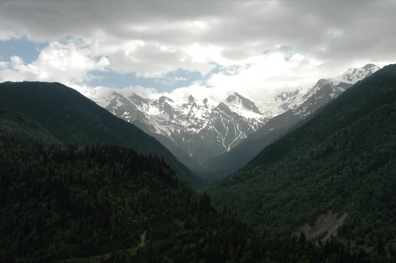 Mountain Pass - Svaneti, Georgia
