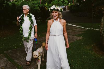 Anne + Lonnie // Holualoa Inn Wedding