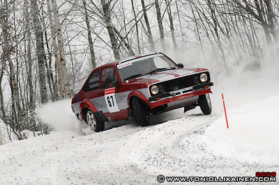 14.02.2009 | Savon Rengas Ralli, Kiuruvesi