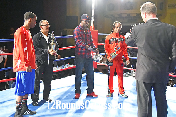 Walkover Winners, Amateurs Turning Pro, Fighter of the Night