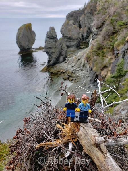 Lego selfie on the Skerwink