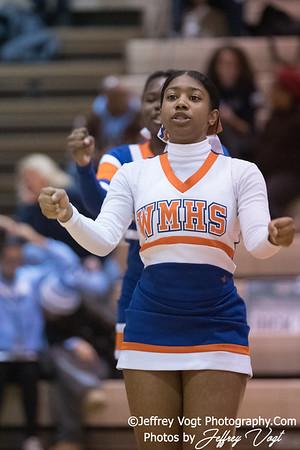 12/15/2017 Watkins Mill HS Varsity Cheerleading, Photos by Jeffrey Vogt Photography