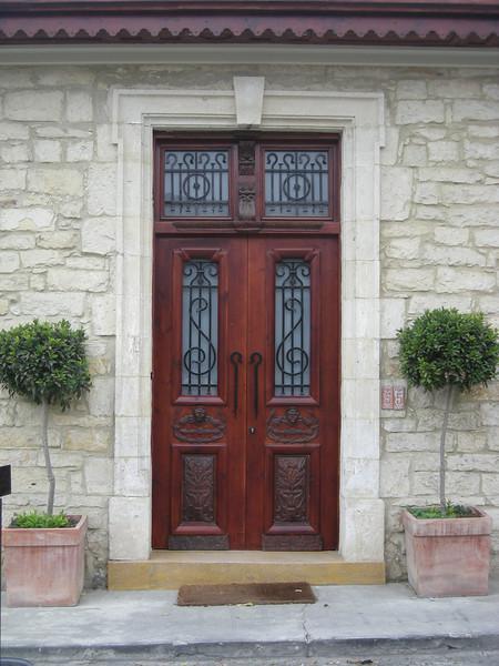 Rainbow Residence doors in Limassol