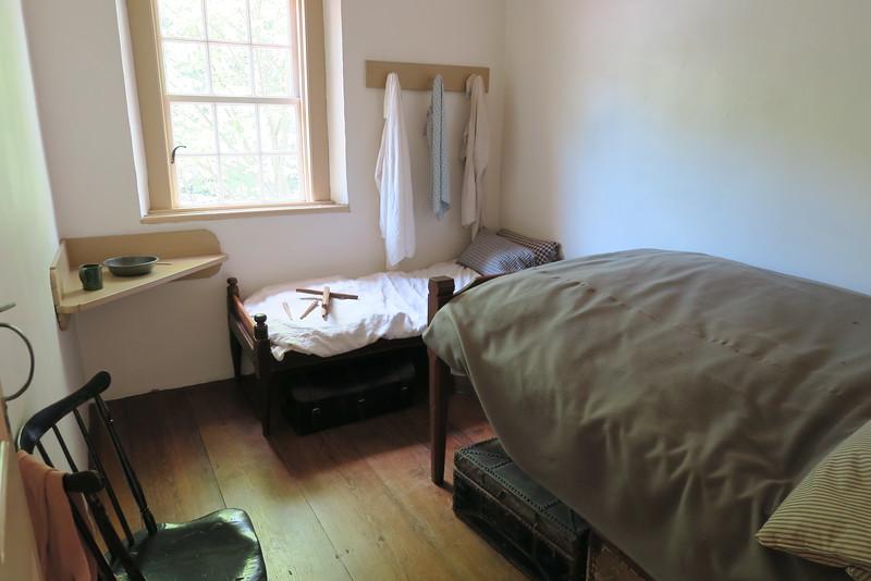 Salem Tavern (ca. 1784) -- Tavern Keeper's Room