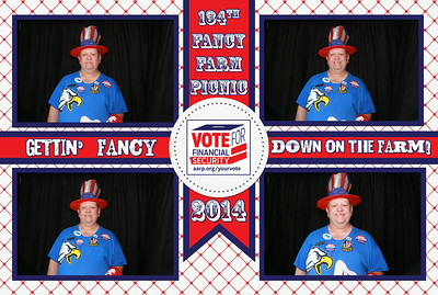 AARP Photo Booth - 134th Fancy Farm Picnic