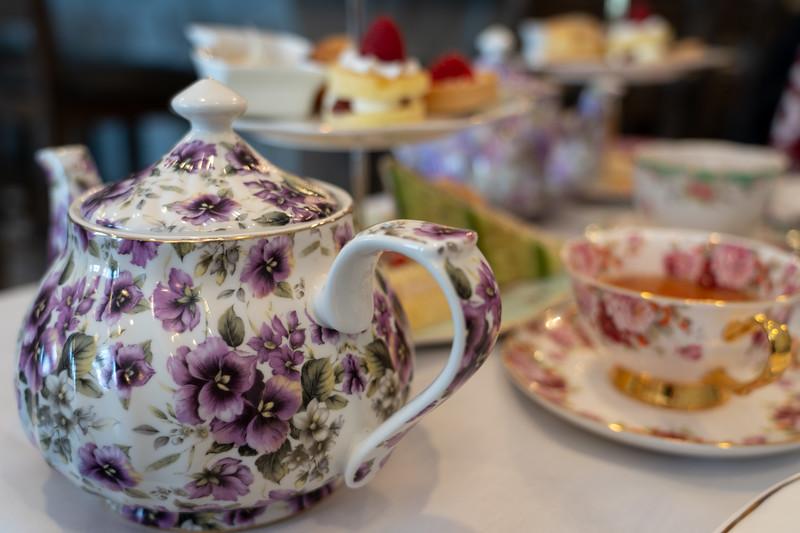 Afternoon tea at The Macaron Tea Room
