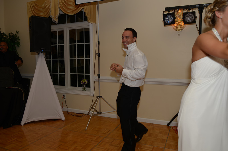 Chris Webster during the dance-off